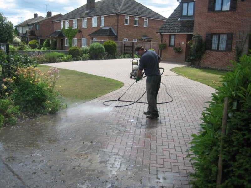 block paving driveway cleaning service abbey paving ForDriveway Cleaning Companies