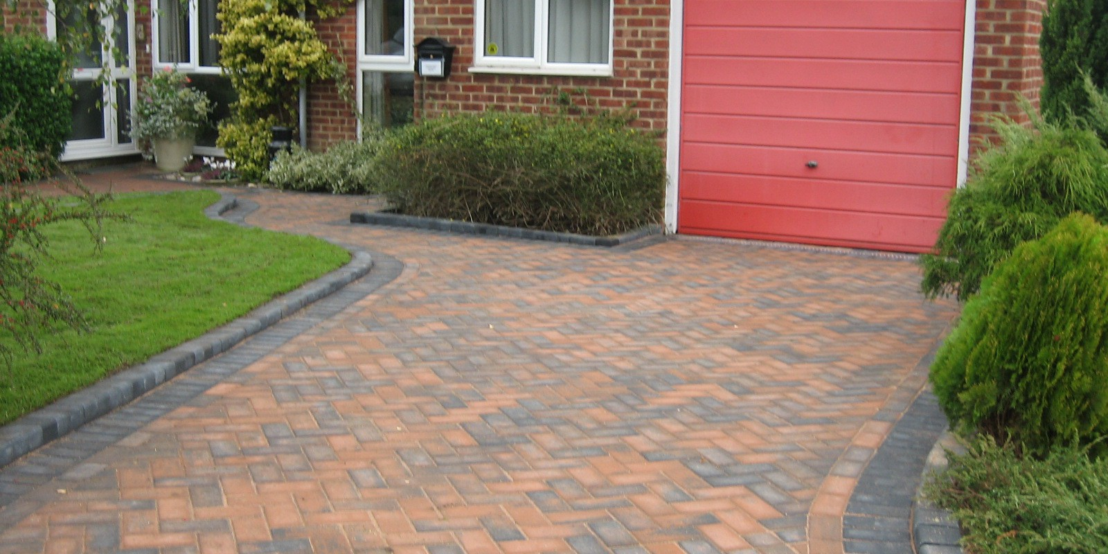 Abbey Paving Block Paving Driveway Completed 1