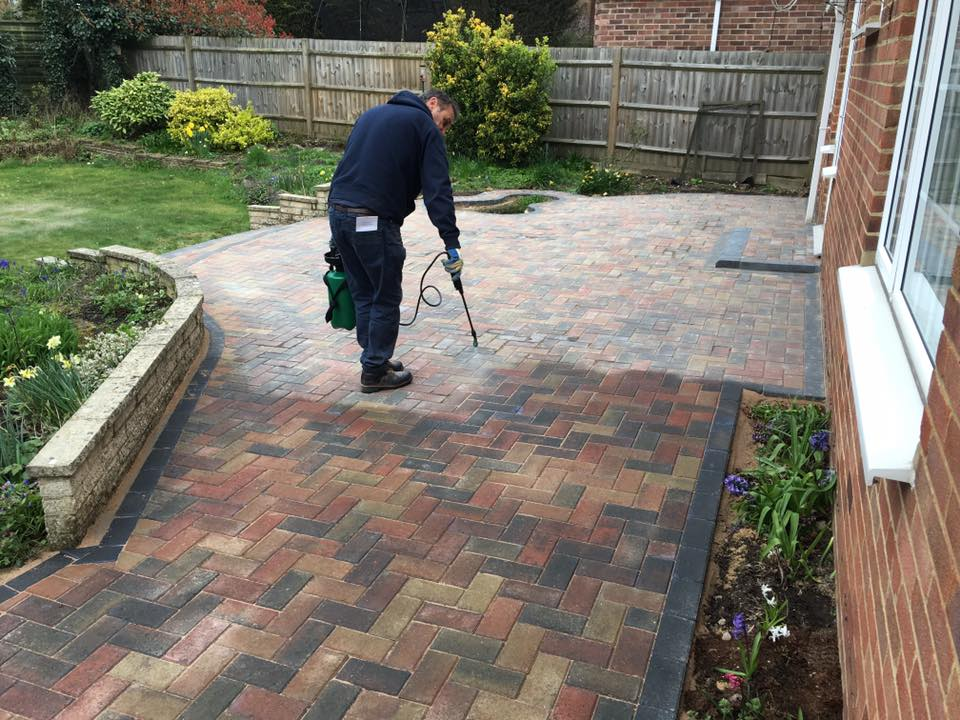 block paving driveway cleaning service